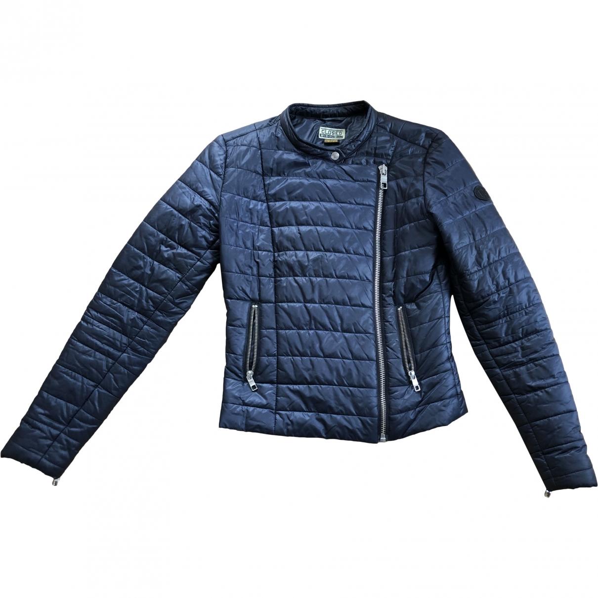 Closed \N Jacke in  Blau Polyester