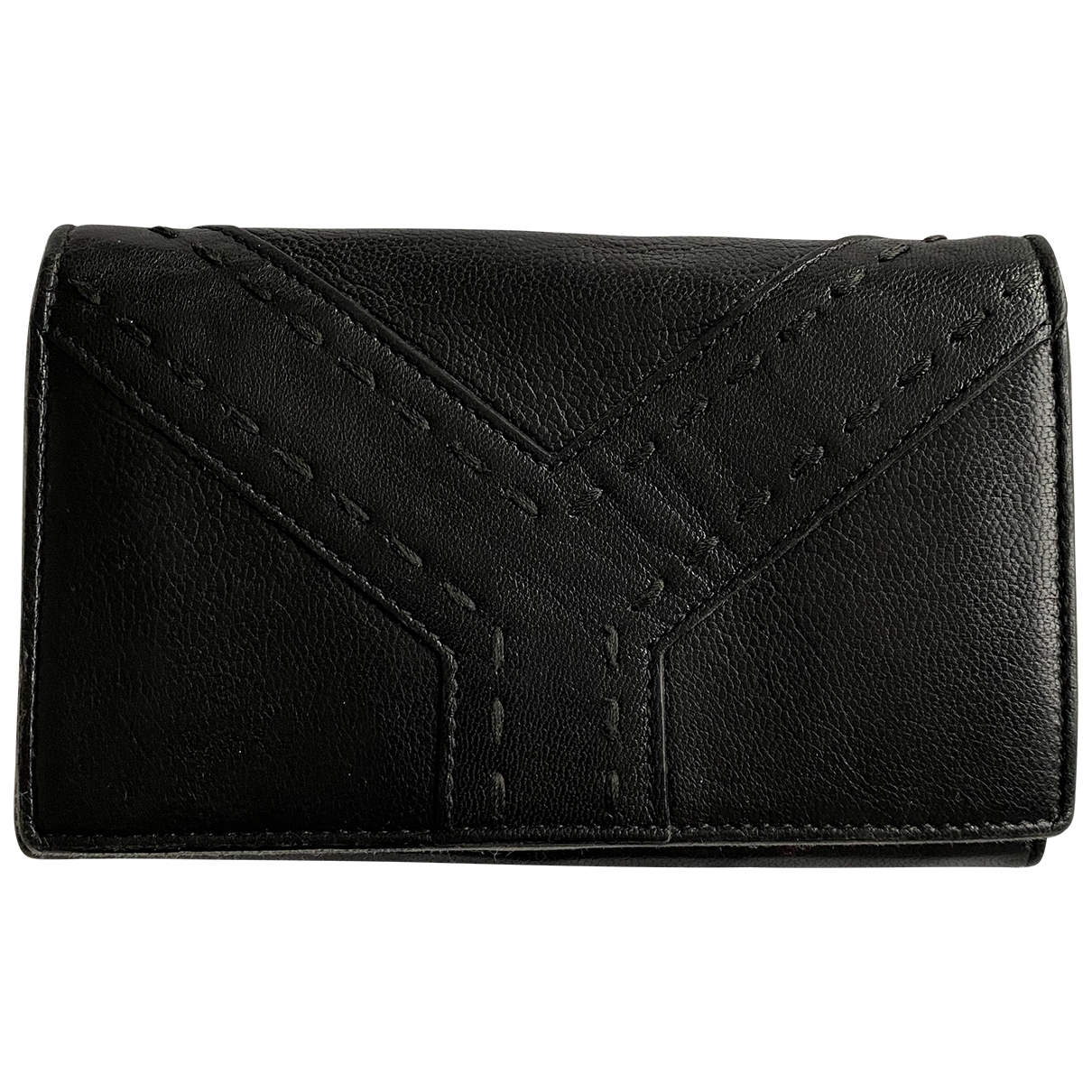 Cartera de Cuero Yves Saint Laurent