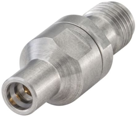 Rosenberger Straight 50Ω RF Adapter SMP Plug to SMA Socket 40GHz