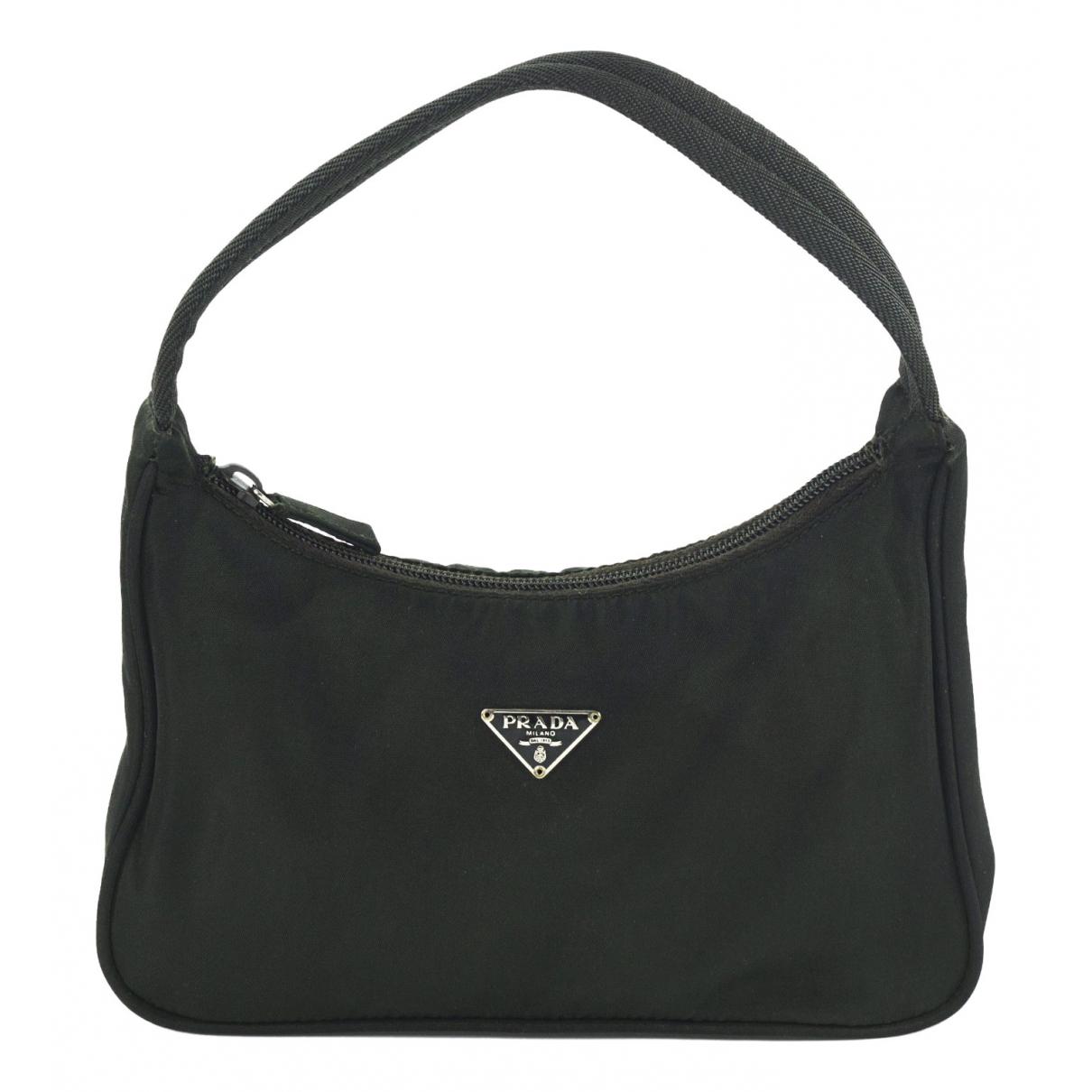 Prada Tessuto  Green handbag for Women N
