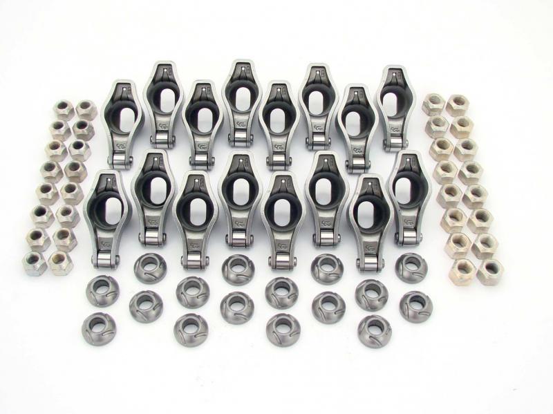 COMP Cams Magnum Roller 1.65 Ratio Rocker Arm Set for Pontiac 265-455 w/ 7/16