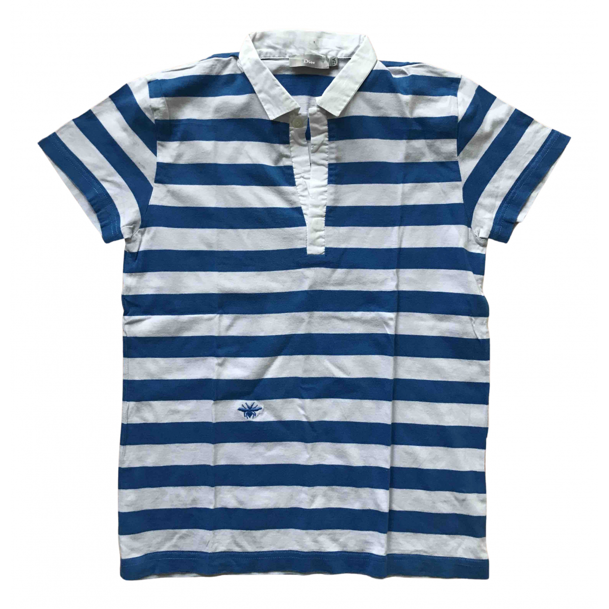 Dior - Top   pour enfant en coton - bleu