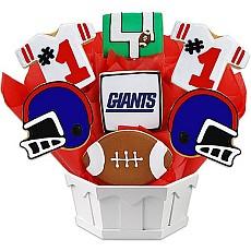 NFL New York Giants Cookie Bouquet