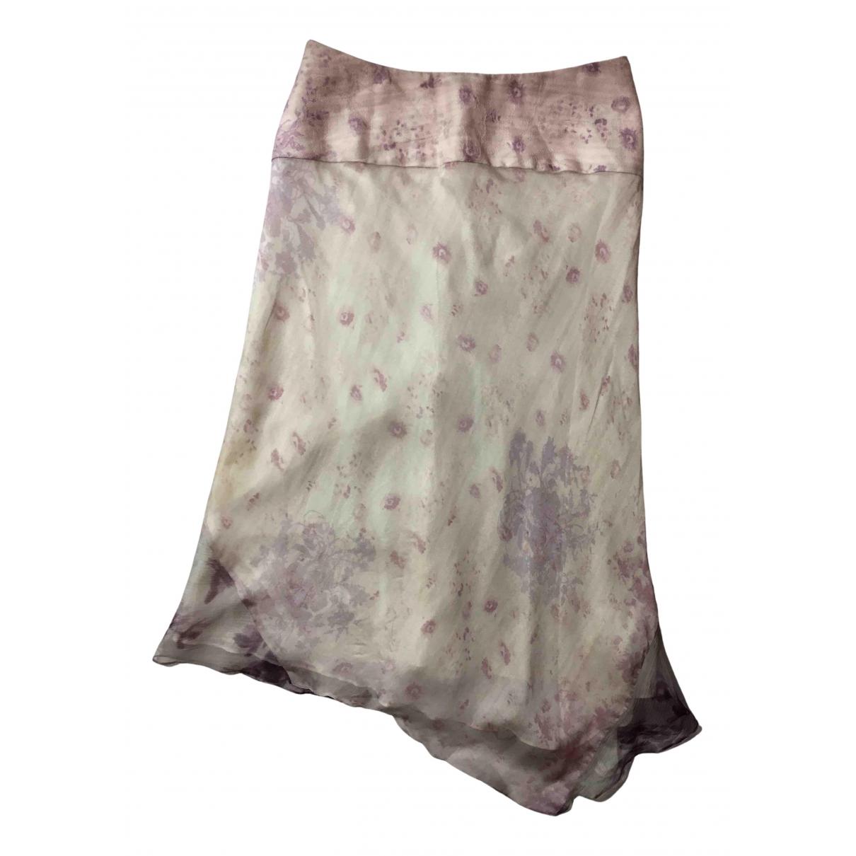 Kenzo - Jupe   pour femme en soie - violet