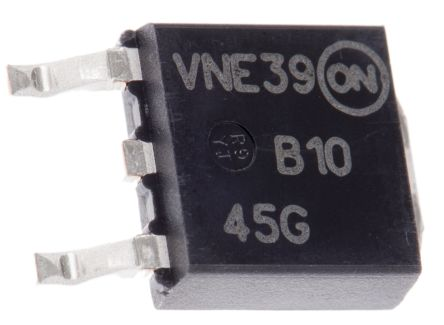 ON Semiconductor ON Semi 45V 10A, Schottky Diode, 3-Pin D2PAK MBRD1045T4G (10)