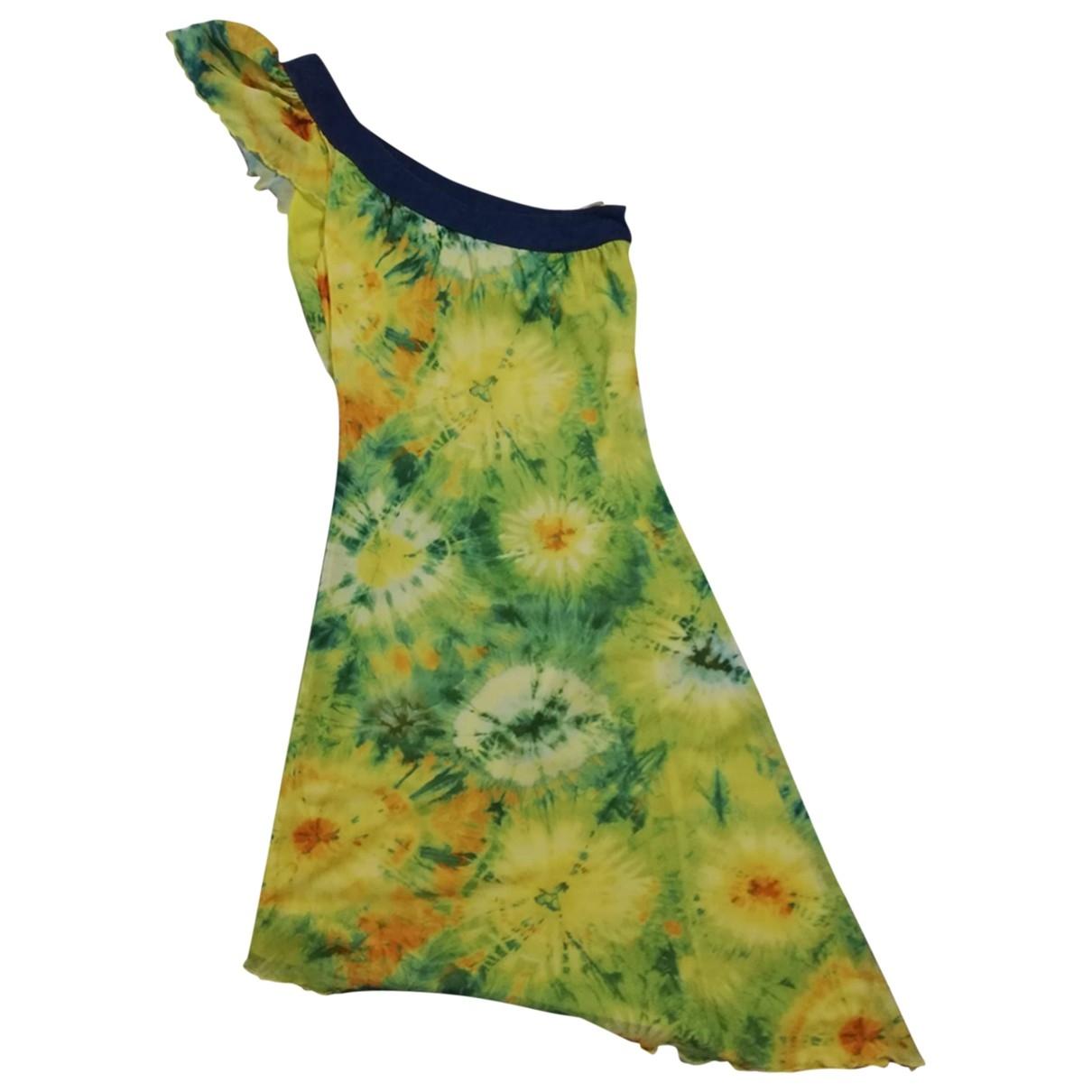 D&g \N Kleid in  Gelb Viskose