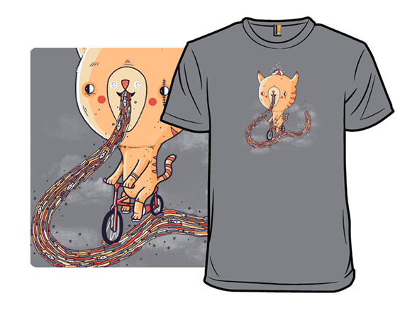 Cat Bike Sick T Shirt
