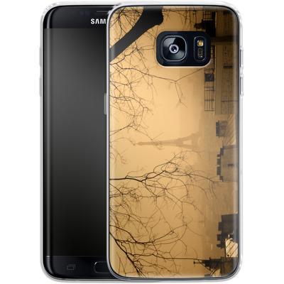 Samsung Galaxy S7 Edge Silikon Handyhuelle - Paris von caseable Designs