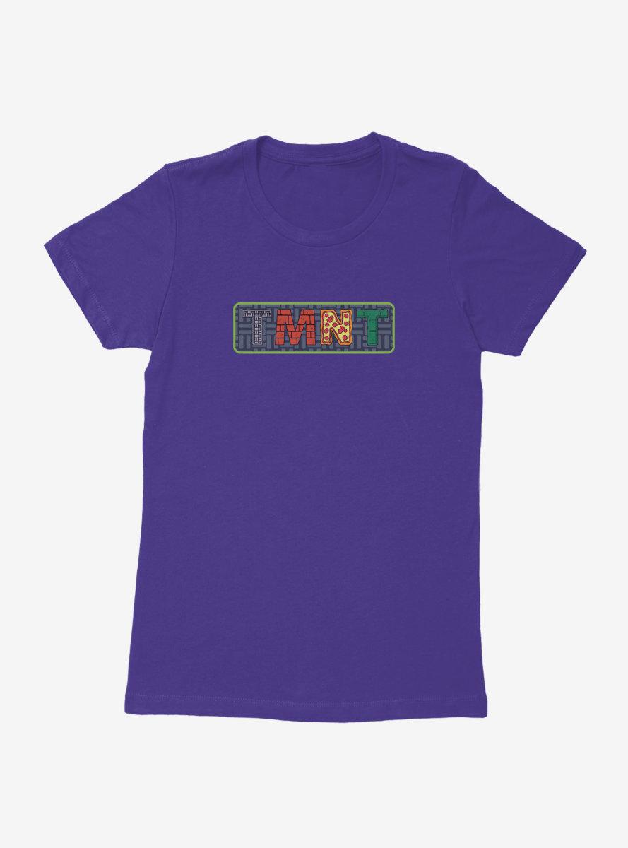 Teenage Mutant Ninja Turtles TMNT Badge Womens T-Shirt