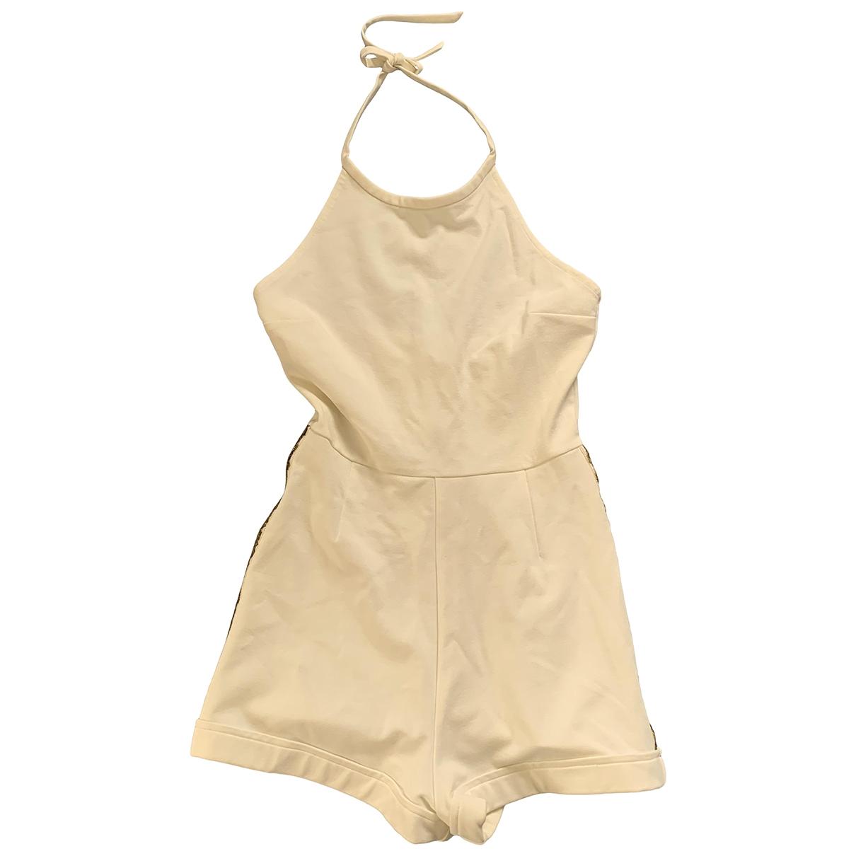 Pierre Balmain - Combinaison   pour femme en coton - blanc