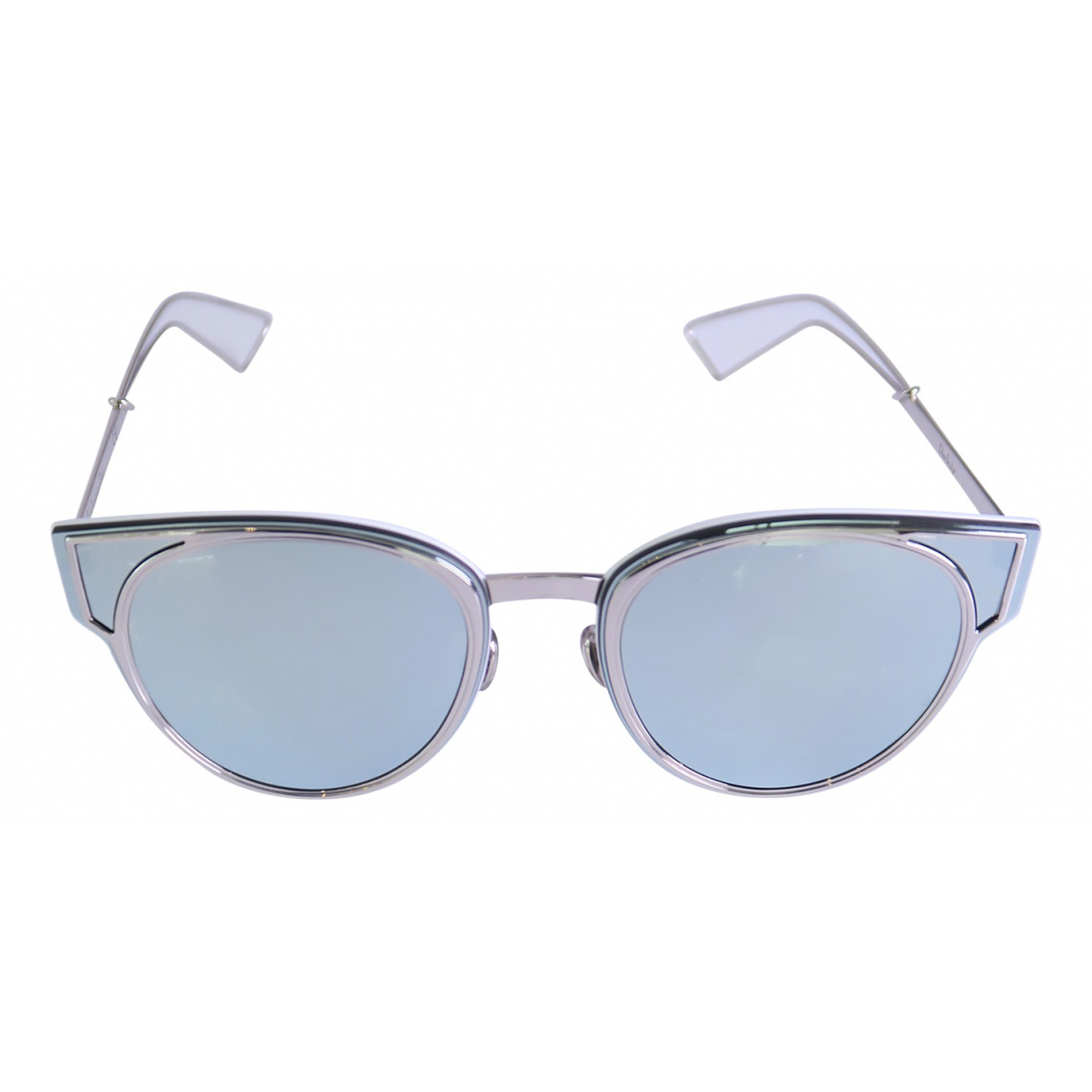Dior N Silver Metal Sunglasses for Women N