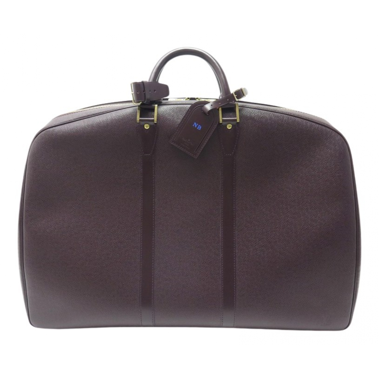 Bolso de viaje Helanga de Cuero Louis Vuitton
