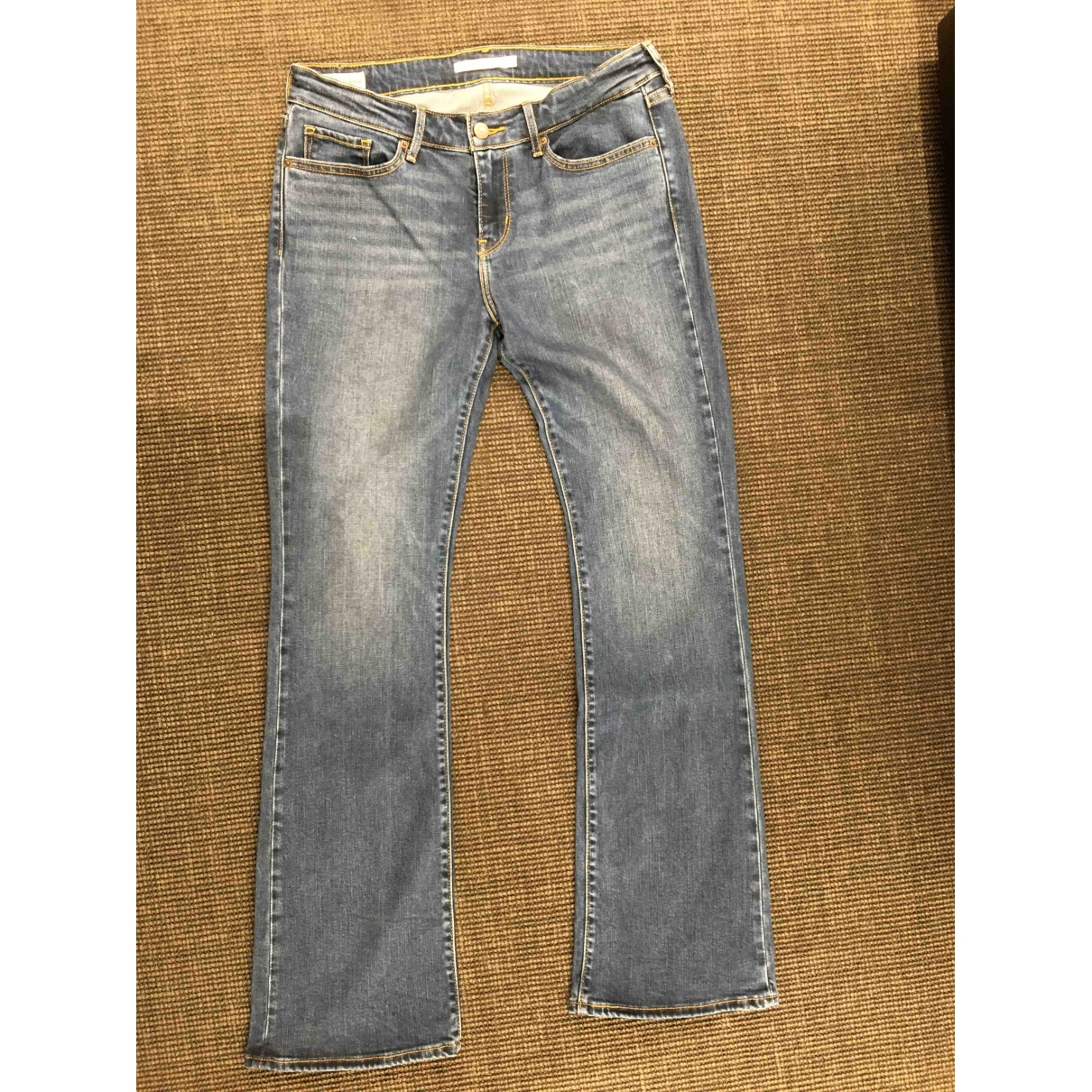 Levi's \N Blue Cotton - elasthane Jeans for Women 29 US