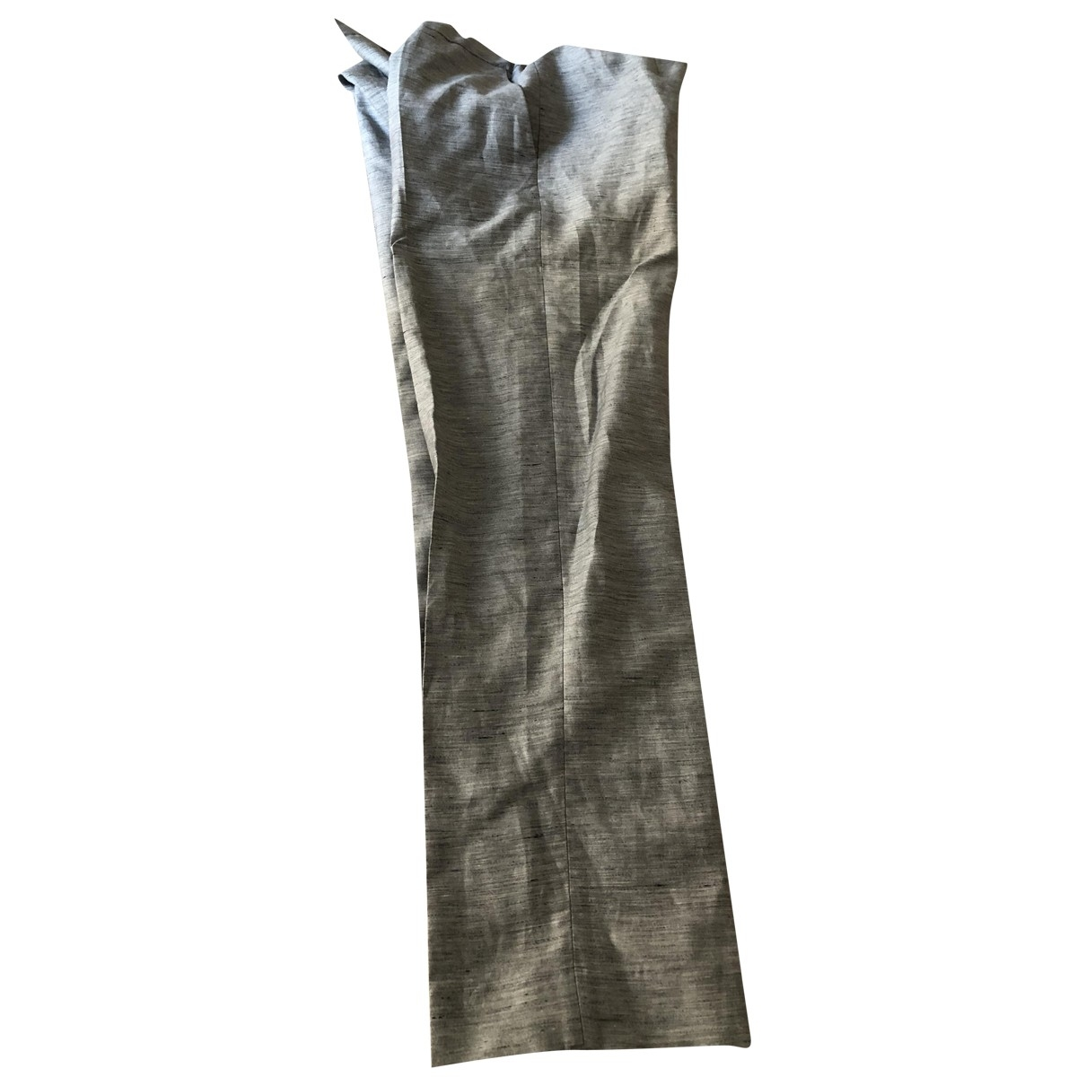 Cos \N Silver Trousers for Women 38 FR
