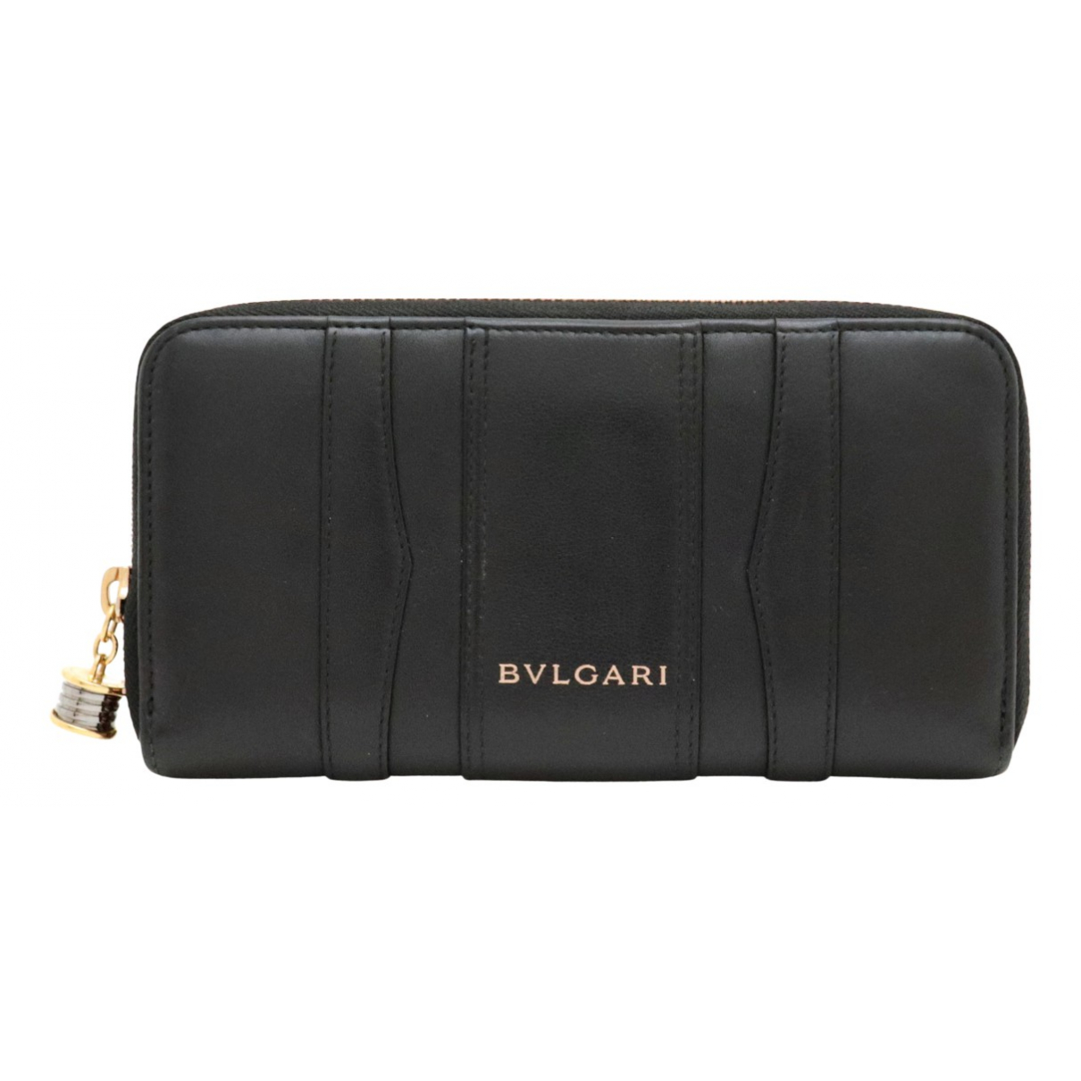 Bvlgari N Black Leather wallet for Women N