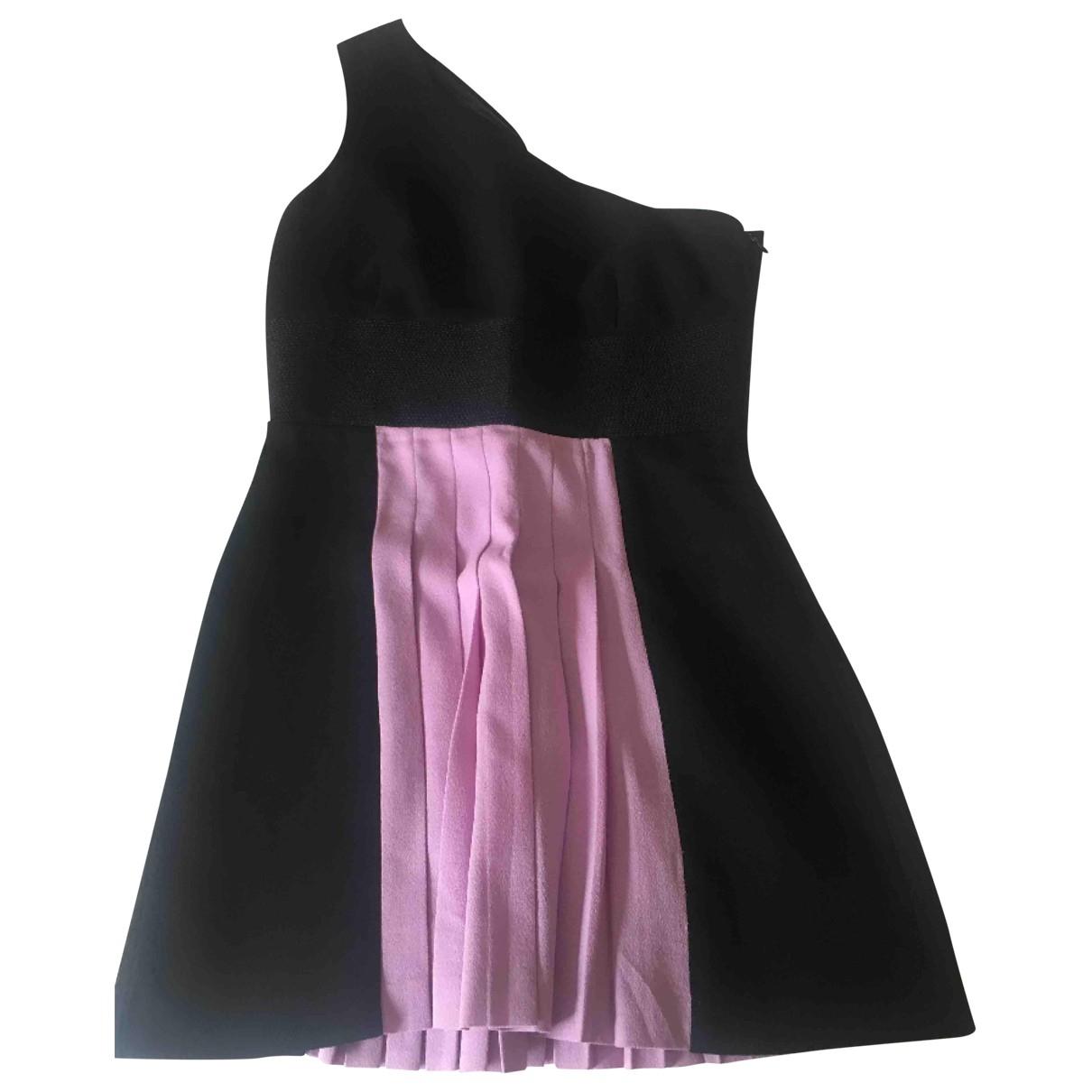 Fausto Puglisi - Robe   pour femme en laine - noir