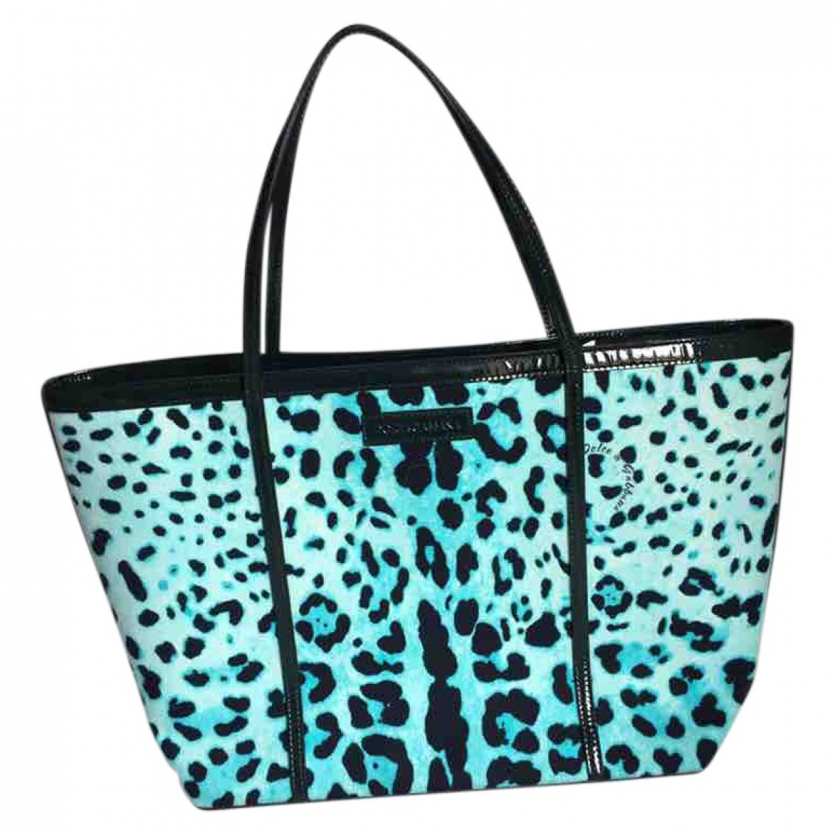 Dolce & Gabbana \N Turquoise Cloth handbag for Women \N