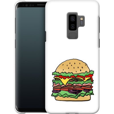 Samsung Galaxy S9 Plus Smartphone Huelle - Burger  von caseable Designs