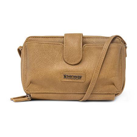 Koltov Jade Crossbody Bag, One Size , White