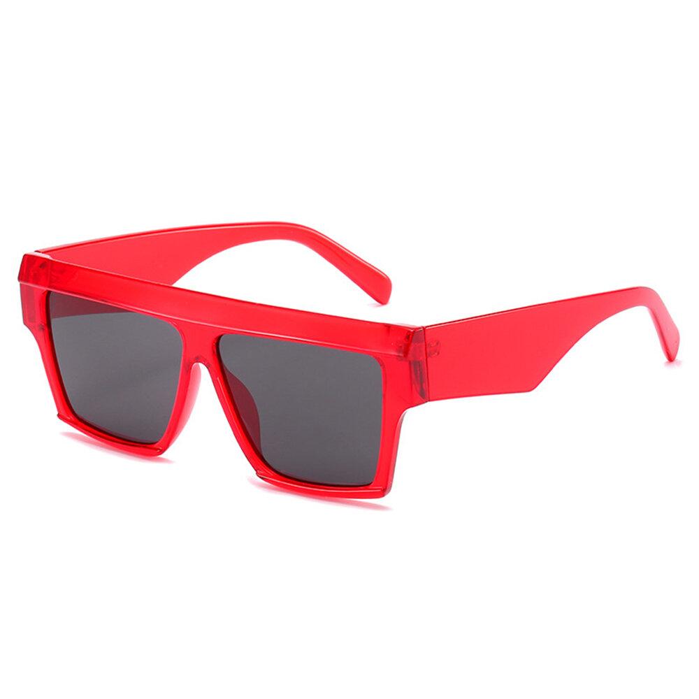 Mens Womans Multi-color Fshion Driving Glasses Square Retro Frame Sunglasses