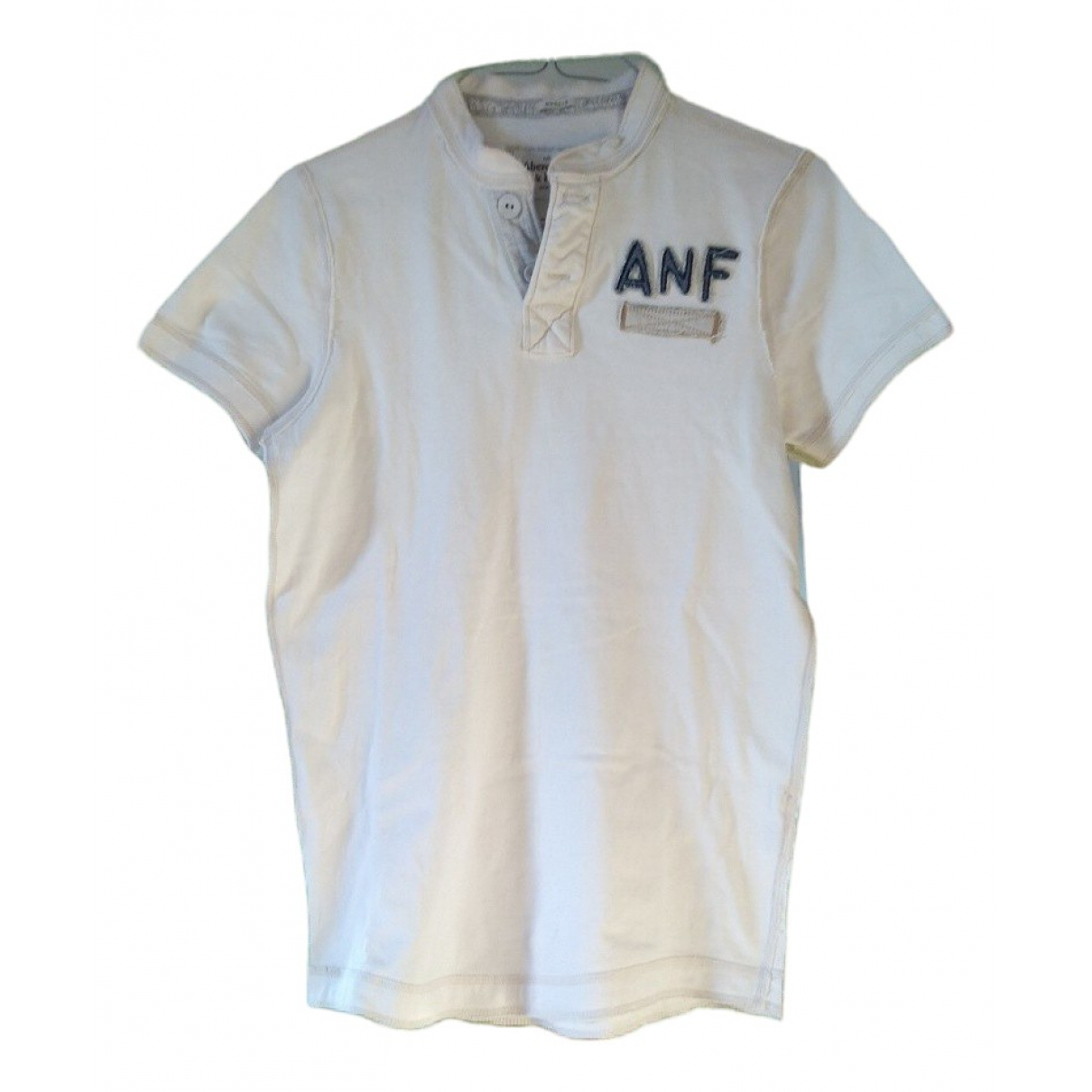 Abercrombie & Fitch \N White Cotton Polo shirts for Men L International