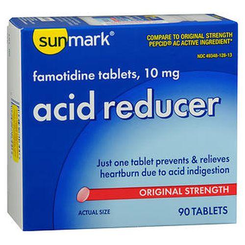 Sunmark Acid Reducer Tablets 30 Tabs by Sunmark