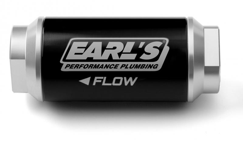 Earl's Performance 230608ERL BILLET FF, 175 GPH, 10 MIC, -8AN