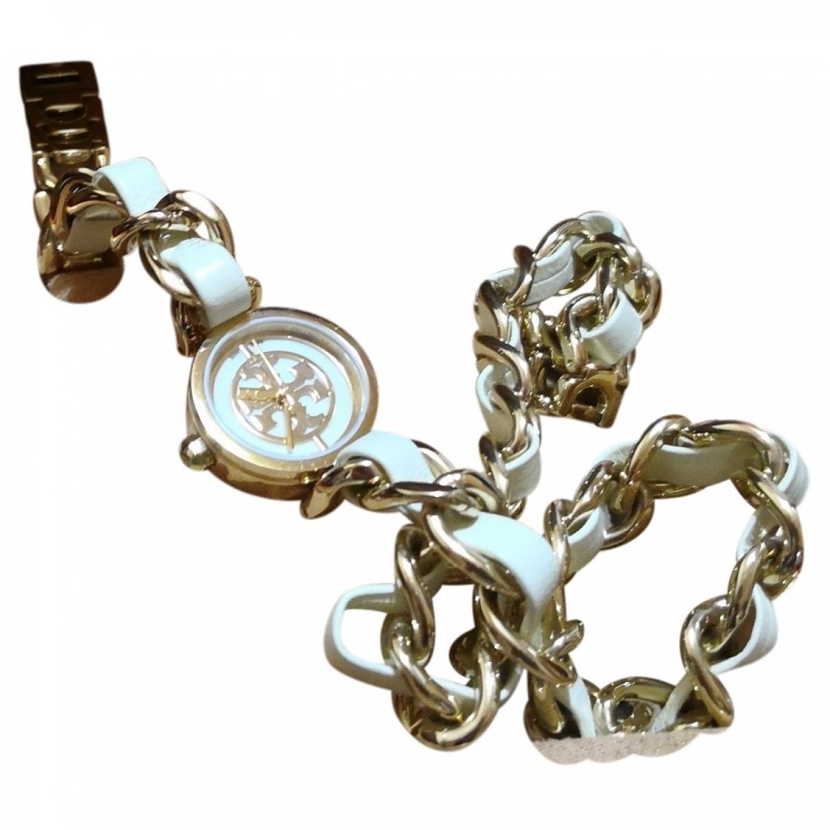 Tory Burch \N Armband in  Weiss Leder