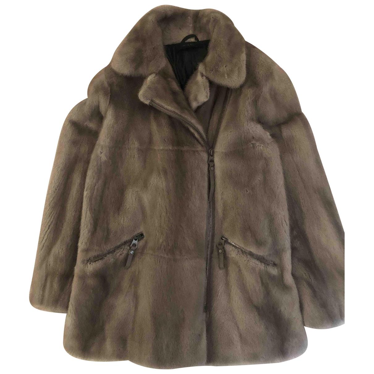 Rizal \N Grey Mink coat for Women 40 FR