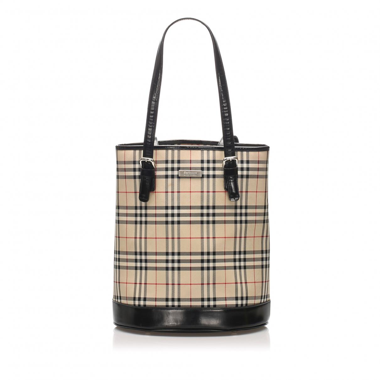 Burberry N Brown Cloth handbag for Women N