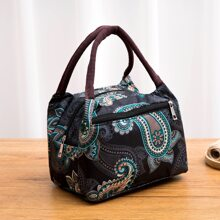 Paisley Pattern Lunch Bag