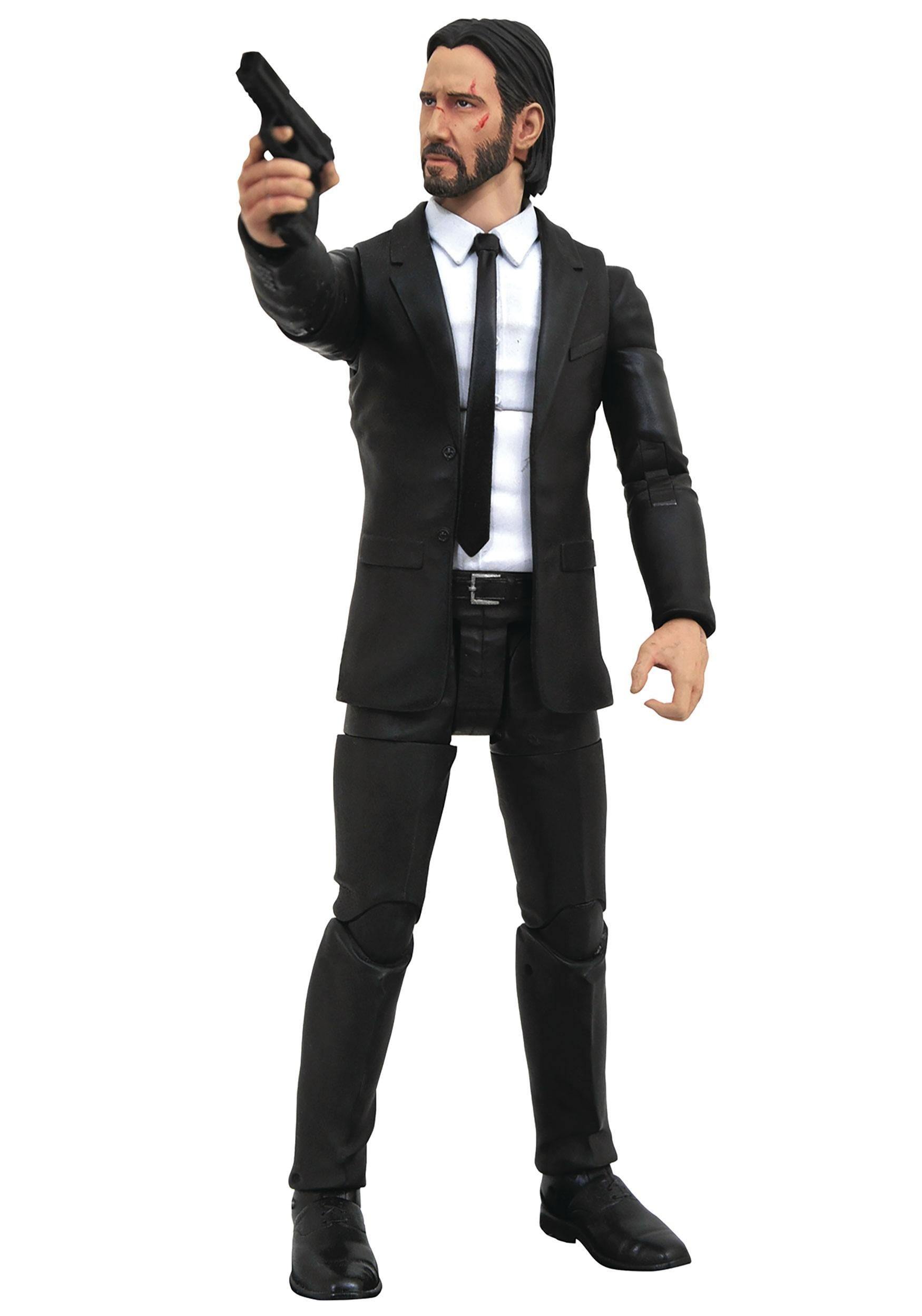 John Wick Diamond Select Black Suit Action Figure