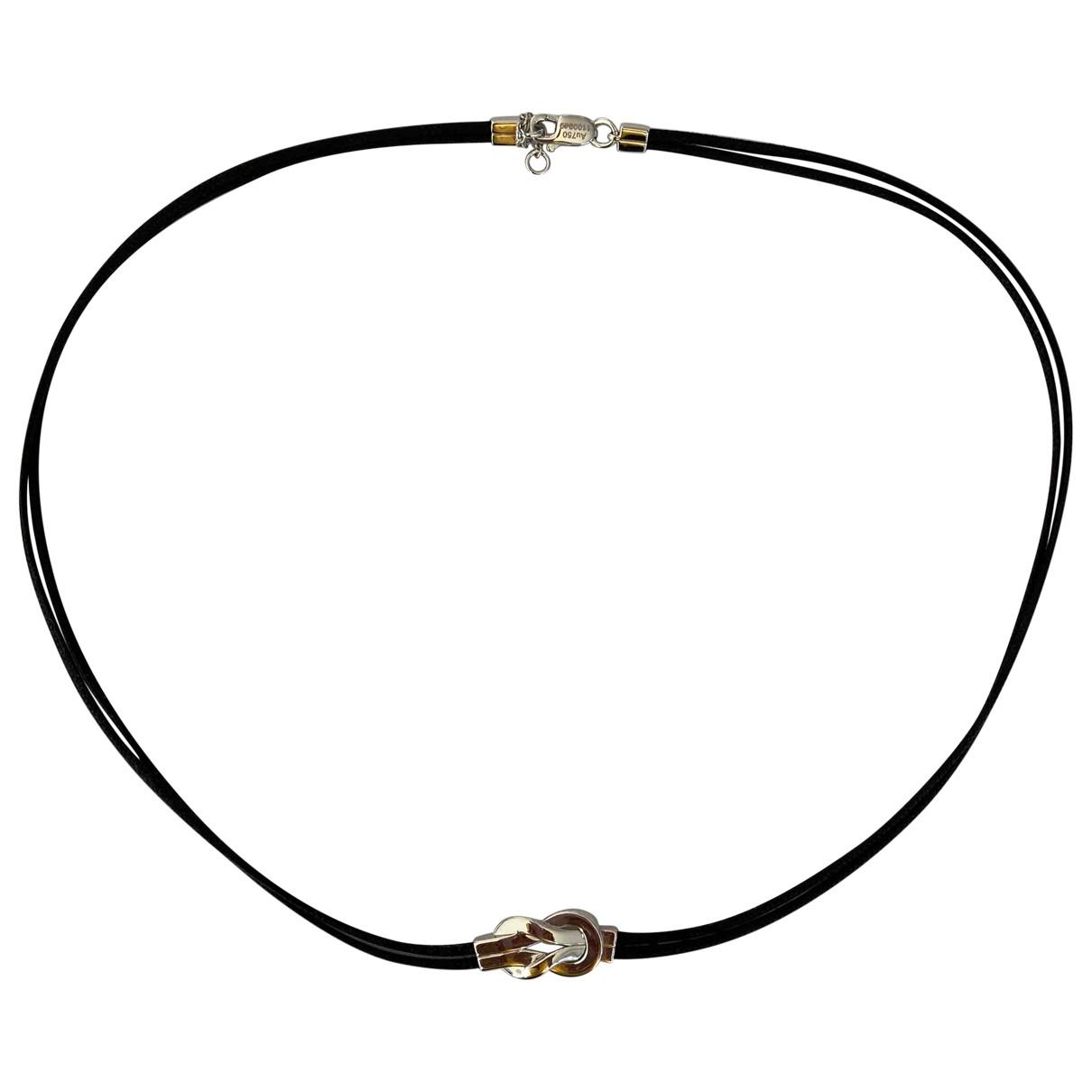 Fred - Collier 8°0 pour femme en or blanc - argente