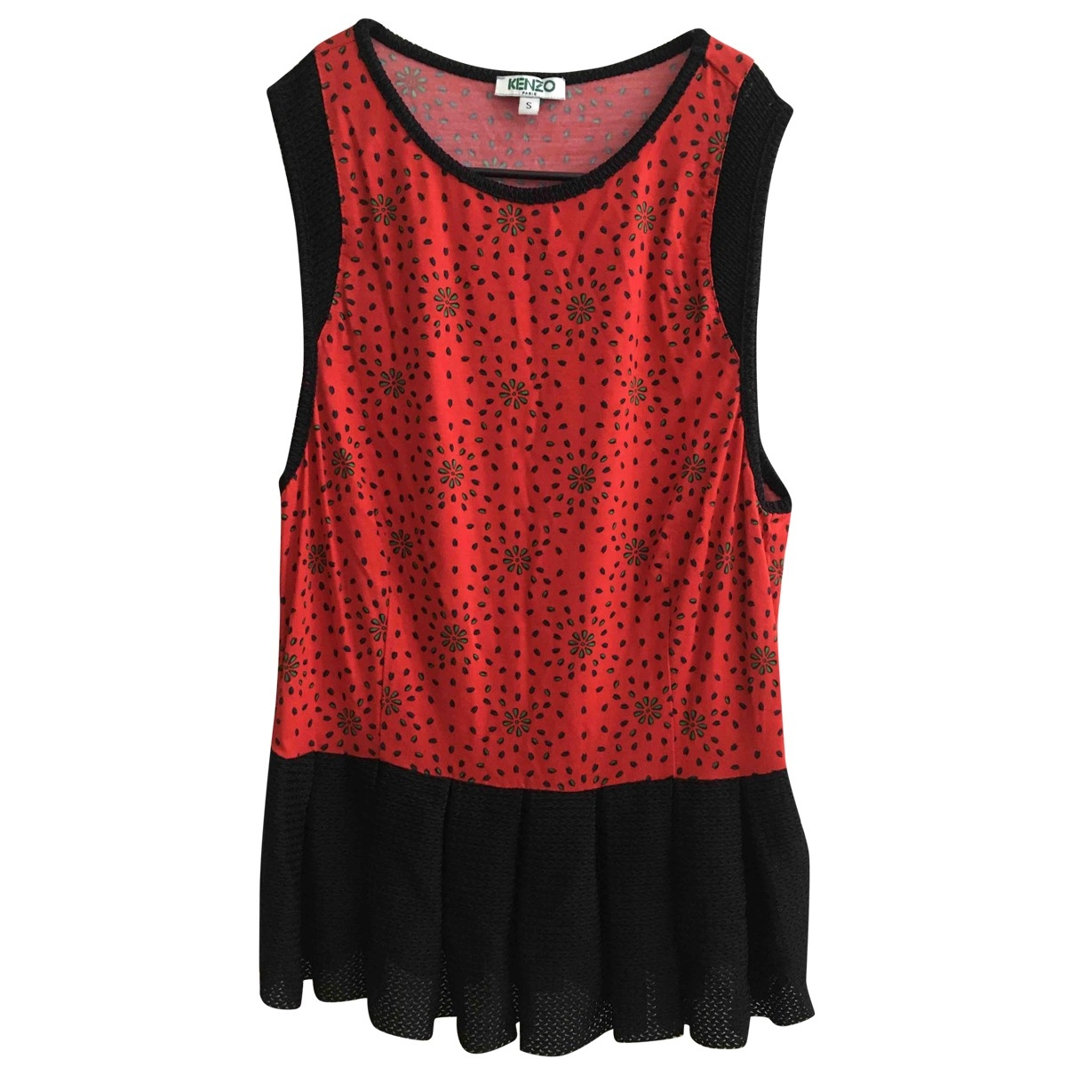 Kenzo \N Red  top for Women S International