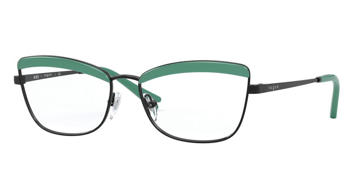 Vogue Eyewear VO4164 352 Women's Glasses Black Size 51 - Free Lenses - HSA/FSA Insurance - Blue Light Block Available
