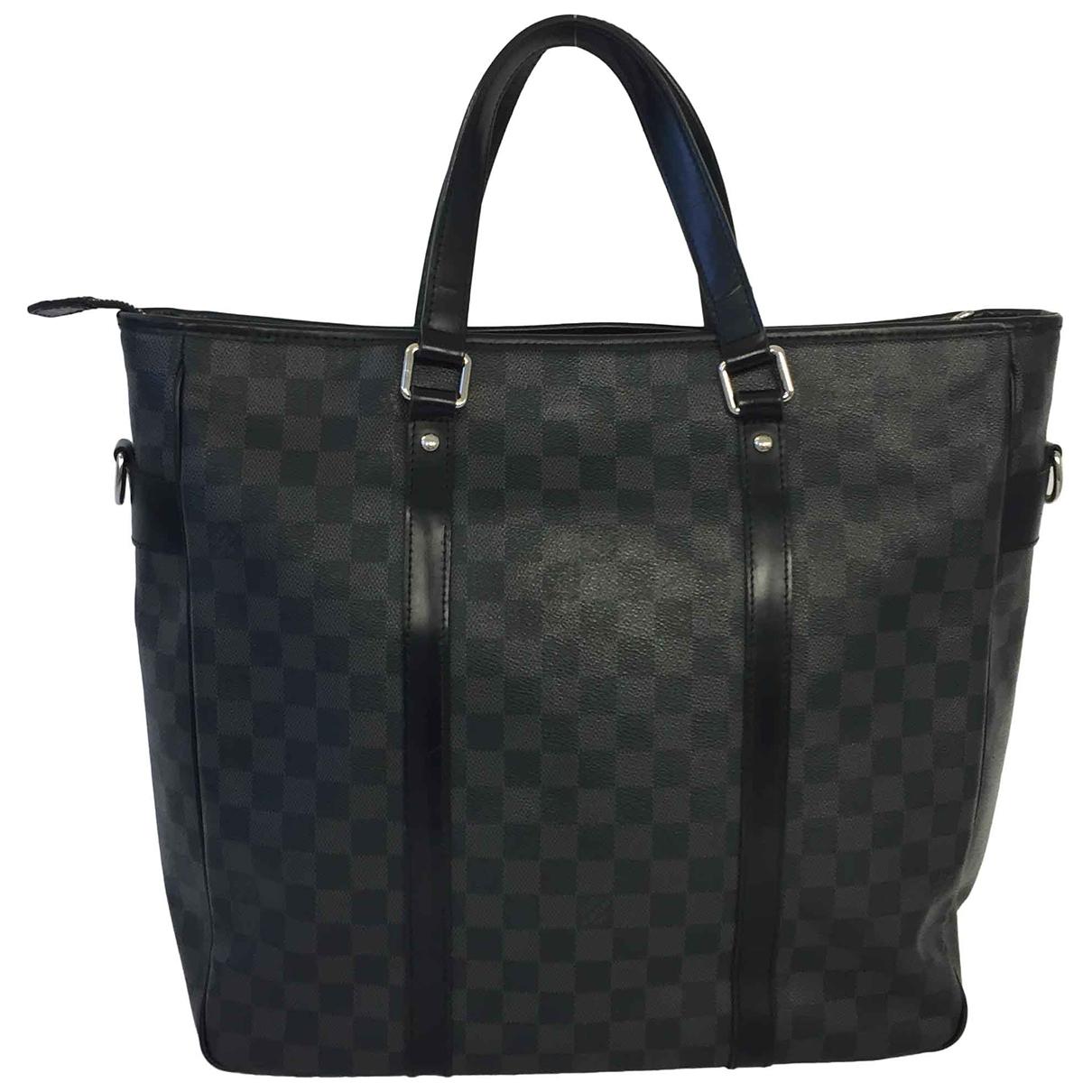 Louis Vuitton - Sac a main   pour femme en toile - noir