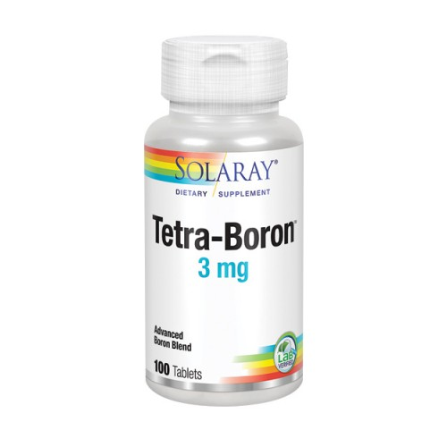 Tetra Boron 100 Tabs by Solaray