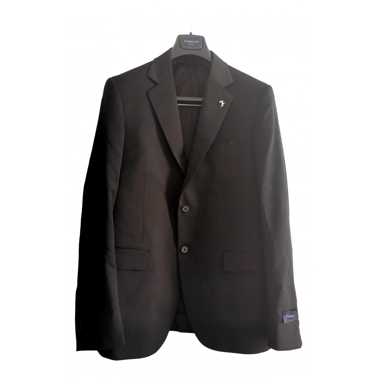 Tombolini - Costumes   pour homme en laine - noir