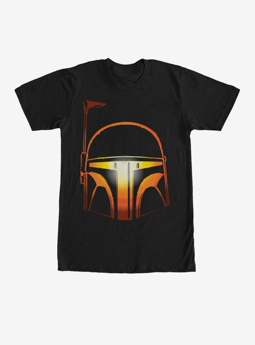 Star Wars Boba Fett Halloween Jack-O'-Lantern T-Shirt