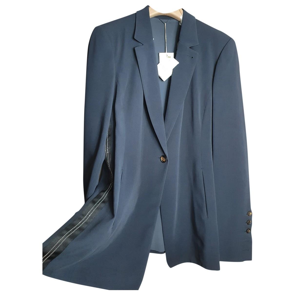 Brunello Cucinelli \N Blue jacket for Women 48 IT