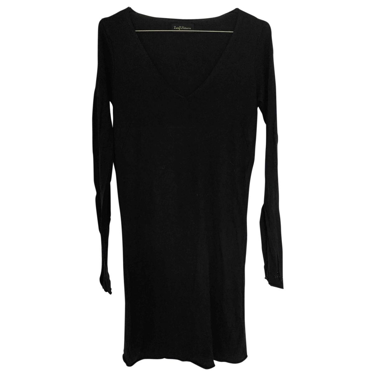 Zadig & Voltaire \N Black Silk dress for Women S International