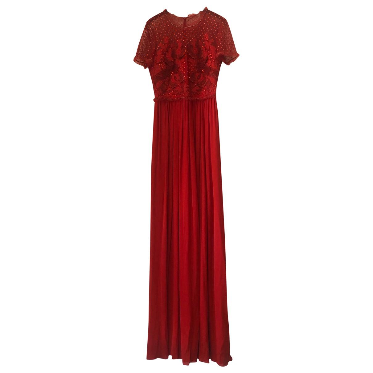 Jenny Packham \N Red Silk dress for Women 8 UK