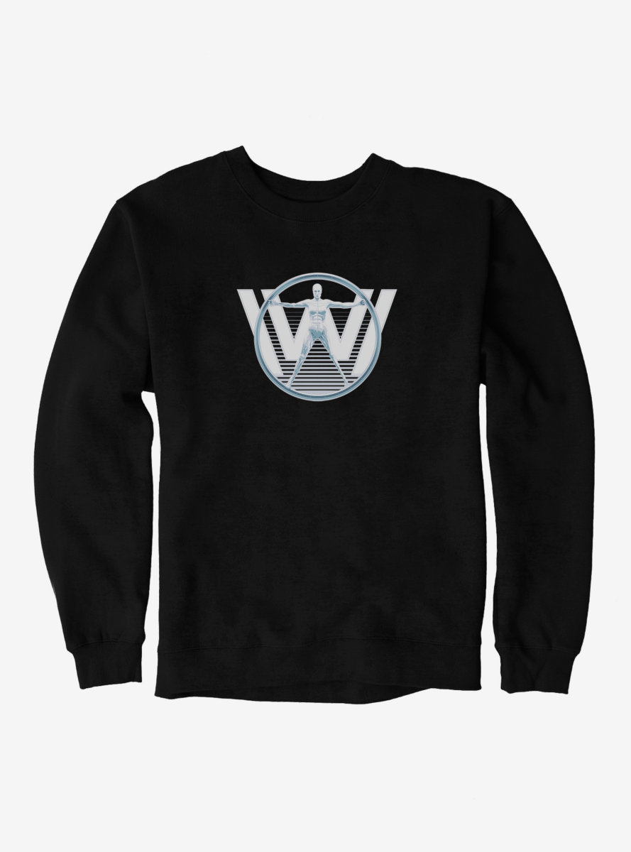 Westworld Android W Icon Sweatshirt