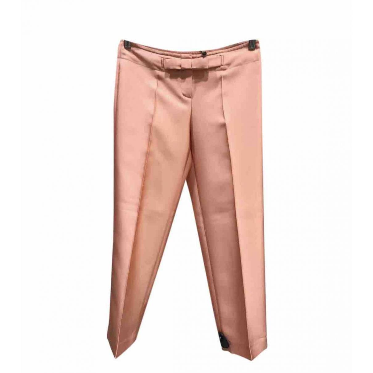 Pantalon de traje de Seda Dior