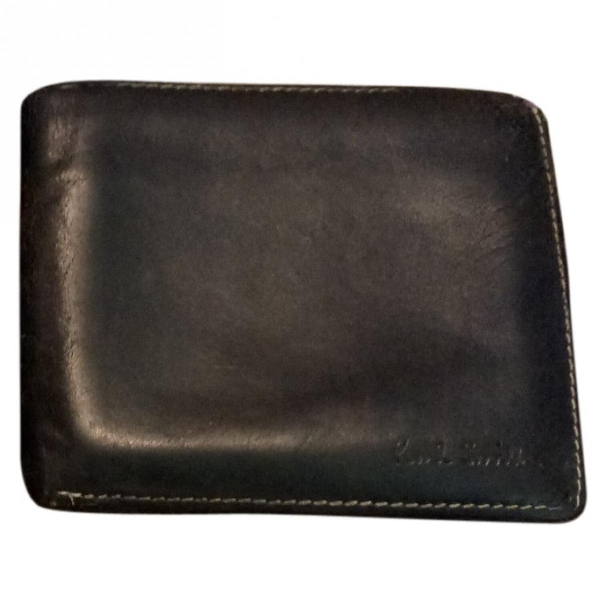 Paul Smith - Petite maroquinerie   pour homme en cuir - noir