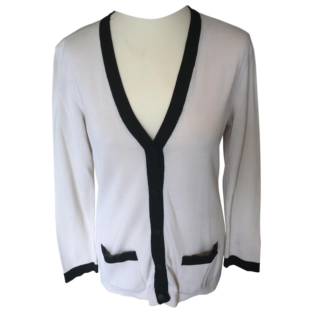 Chanel \N Ecru Cotton Knitwear for Women 40 FR