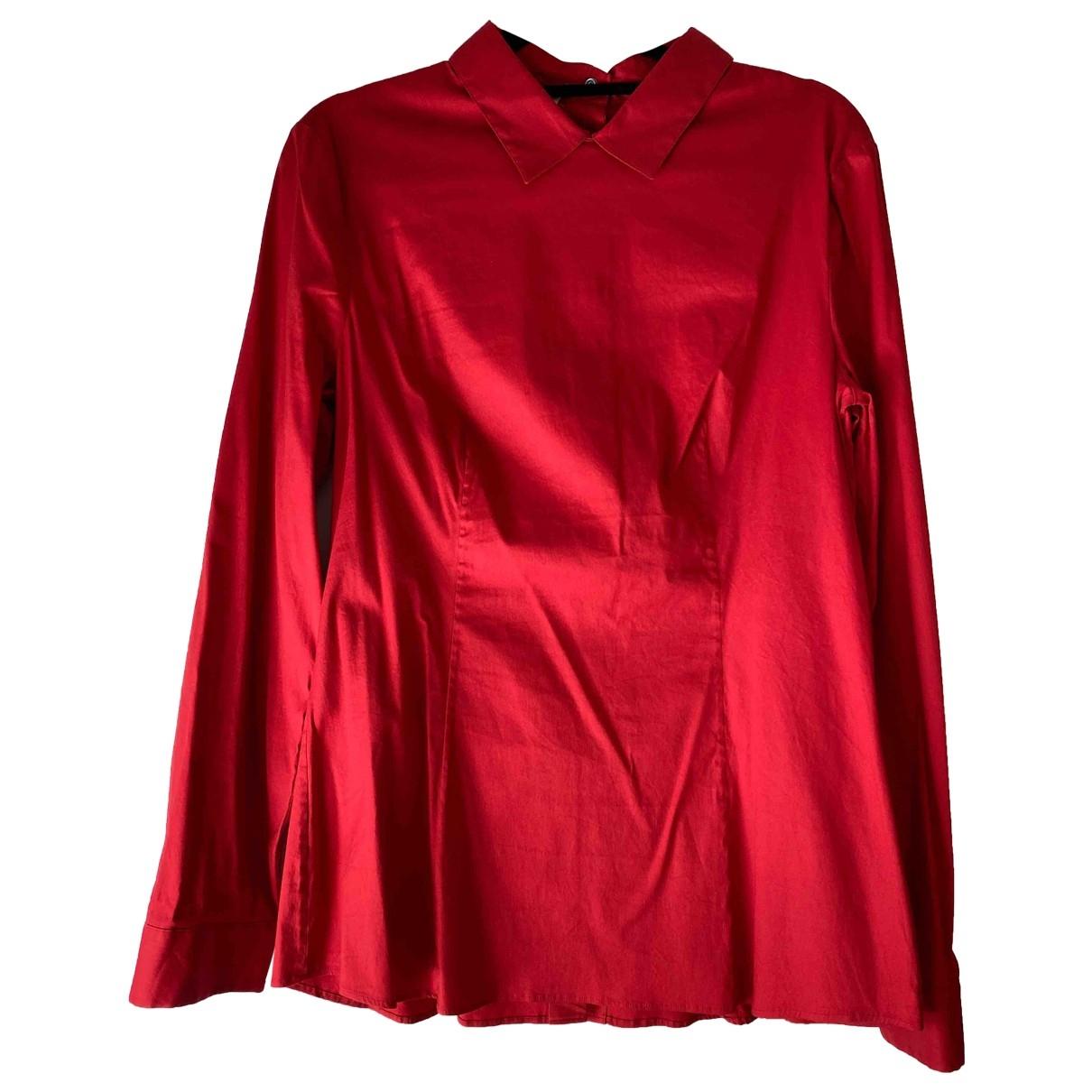 Prada \N Top in  Rot Baumwolle