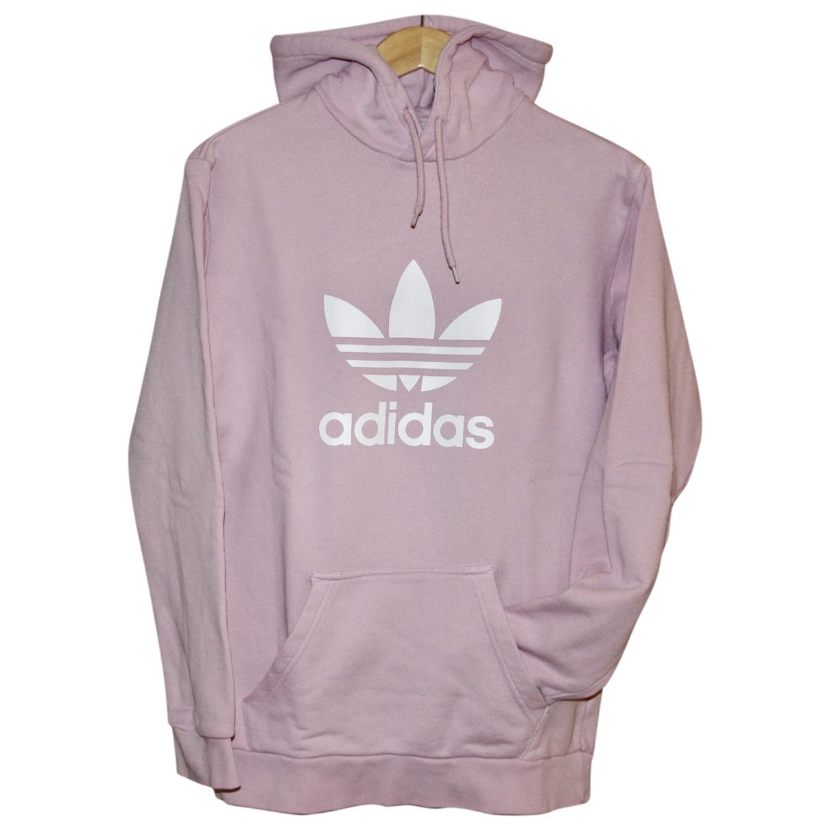 Adidas \N Pullover in  Rosa Baumwolle