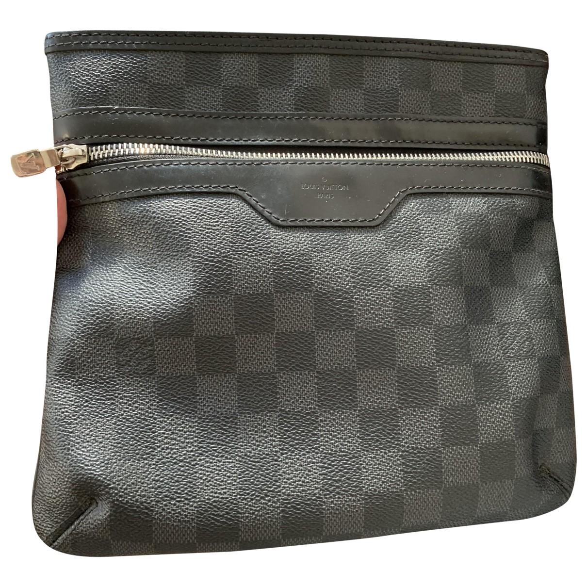 Louis Vuitton Thomas Grey Cloth bag for Men \N