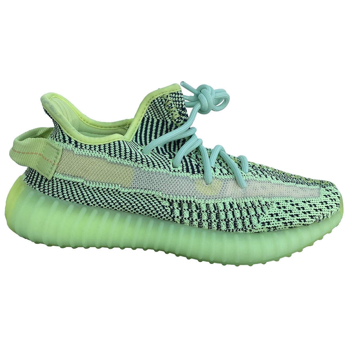 Yeezy X Adidas - Baskets Boost 350 V2 pour femme en toile - vert